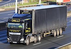 Dec 17 2018 m25 BL16BGU (jon L1049H) Tags: trucks daf m25