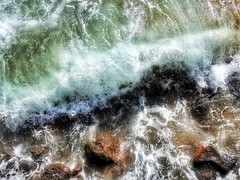 Over and Under (Robert Cowlishaw (Mertonian)) Tags: crest mertonian robertcowlishaw canon powershot sx60hs canonpowershotsx60hs ineffable peace2us awe wonder beauty beautiful maui2018 ocean under over deeply rocky choas