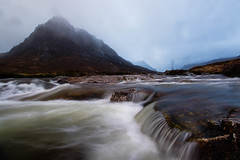 Glencoe (Ed Swift) Tags: 7d2 canon efs1018mm glencoe longexposure scotland water