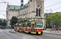 Bratislava tramway: Tatra T6A5 # 7921 (Amir Nurgaliyev) Tags: tatrat6a5 dpb bratislavatramway