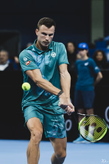 Márton Fucsovics (ЮлианТодоров) Tags: sofia bulgaria tenis portrait photography wilson ball atp tennis court play player competition skill serve photojournalism newspaper