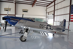 NL851D (DS) North American P-51D Mustang United States Air Force Colours 'Crazy Horse' Kissimmee Municipal 25th October 2018 (michael_hibbins) Tags: nl851d ds north american p51d mustang united states air force colours crazy horse kissimmee municipal 25th october 2018 aeroplane aerospace aviation aircraft airplane aero airfields airport airports civil general historic history retro exmilitary ww2 wwii n america usa us