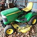 John Deere X 728 Ultimate riding lawn tractor