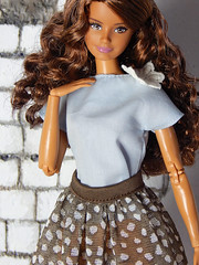 Sweetheart collection (Levitation_inc.) Tags: ooak doll handmade dolls outfit fashion fashions levitation levitationfashion sweetheart spring 2019 royalty poppy parker barbie cute romantic