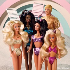 1991 Barbie Sun Sensation Christie Kira Marina Ken Skipper (Barbie Collectors Guide '90s) Tags: 1991 barbie sun sensation christie kira marina ken skipper