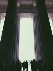 Washington DC (vhickey25479) Tags: columns washingtondc lincolnmemorial