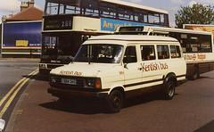 KentishBus-984-C524CKO-Bexleyheath-090596a (Michael Wadman) Tags: c524cko bexleyheath fordtransit kentishbus