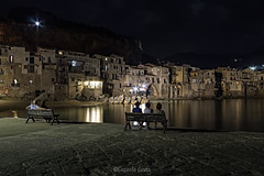 Cefalù (Sicilia) - il borgo marinaro di notte    Cefalù (Sicily) - the seaside village at night (Eugenio GV Costa) Tags: cefalù sicilia sicily borgo notte night seaside village palermo outside mare acqua spiaggia sea water beach