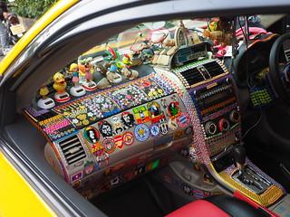 Bangkok - Taxi interior