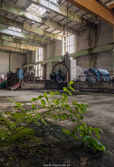 Abandoned power plant (trip_mode) Tags: abandoned urbex decay urban exploration power plant turbine hall trespassing industrial architecture building station derelict