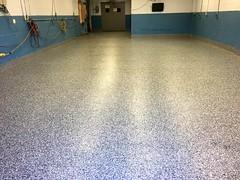 GraniFlex Flooring in Plant- Geauga Coatings- Akron, OH (Decorative Concrete Kingdom) Tags: decorativeconcrete epoxy epoxyflakes graniflex waterproof akron ohio industrial plant