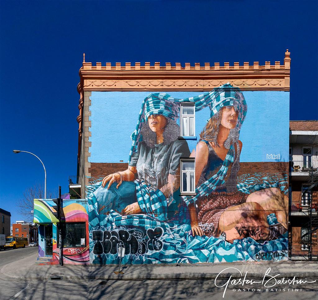 Graffiti wall montreal québec canada gaston batistini tags graffiti wall