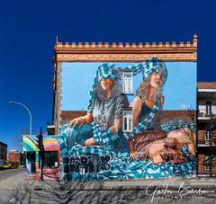 Graffiti wall , Montreal, Québec, Canada (Gaston Batistini) Tags: graffiti wall montreal québec canada murale batistini gbatistini