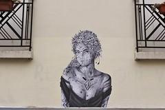 Aydar_5261 place Jean-Baptiste Clément Paris 18 (meuh1246) Tags: streetart paris paris18 buttemontmartre aydar placejeanbaptisteclément