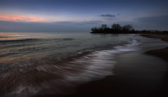 Woodbine Beach (Faron Dillon) Tags: ef1740 canon a7riii sony night morning reflection sunset sunrise toronto beach kew ontario woodbine nature blue color