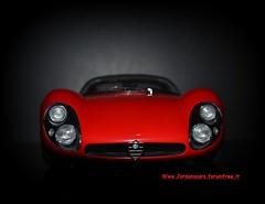 Alfa Romeo 33 Stradale (MODEL CAR PASSION) Tags: alfa romeo 33 stradale classic cars best car model diecast autoart auto art 118 modelcars collectors jordanscars arese museo competizione le mans