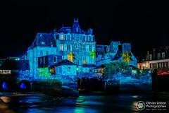 Illuminations de Landerneau pour les fêtes de fin d'année (OlivierDREAN) Tags: landerneau 50mm noël ilce7rm2 élorn zeiss sony ze f8 iso100 milvus1450