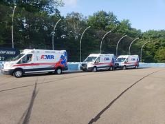 New York ambulances (CasketCoach) Tags: ambulance ambulancia ambulanz ambulans rettungswagen krankenwagen paramedic ems emt emergencymedicalservice firefighter fordtransit