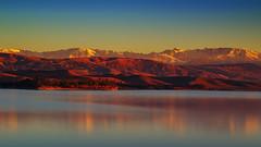 Atlas@sunset (Kamal MIKOU) Tags: marrakesh morocco travel landscape sunset nikon d800 lake mountains reflection