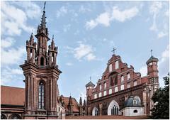 184- SAN BERNARDO Y SANTA ANA - VILNIUS - LITUANIA - (--MARCO POLO--) Tags: ciudades curiosidades rincones templos iglesias arquitectura edificios