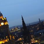 Edinburgh Skyline on a Winter Night 02 thumbnail