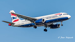 G-EUUF  Airbus A320-200 - British Airways (Peter Beljaards) Tags: msn1814 2xv2500 airbus a320200 nikond5500 a320 airbusa320 aircraft airplane inbound landing final ams eham haarlemmermeer nikon aviationphotography nikon70300mmf4556 geuuf britishairways ba