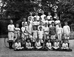 Mens sana in corpore sano (National Library of Ireland on The Commons) Tags: ahpoole arthurhenripoole poolecollection glassnegative nationallibraryofireland boys waterparkcollege waterford ireland bicycles athletics sport school countywaterford schoolboys christianbrothers bikes cycling