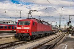 120 118-5 DB Fernverkehr Nuremberg Hbf 31.01.19 (Paul David Smith (Widnes Road)) Tags: 1201185 db fernverkehr nuremberg hbf 310119 br120 120