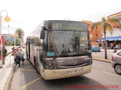 "2018 030720 VOLVO SUNSUNDEGUI ASTRAL  BUS AVANZA PORTILLO BUS 5749 0491 GNP ROUTE  M121 MIJAS TO TORREMOLINOS IN BENALMADINA (Andrew Reynolds transport view) Tags: europe spain andalucia transport bus coach transit passenger omnibus diesel ""mass transit"" 2018 030720 volvo sunsundegui astral avanza portillo 5749 0491 gnp route m121 mijas to torremolinos in benalmadina"