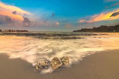 twilight... (Santanu Sen) Tags: sunset twilight island andamansea corbyns cove andaman india sea seashore