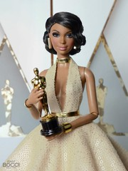 Alma on the red carpet of the 91th Oscars Awards (davidbocci.es/refugiorosa) Tags: oscars barbie mattel fashion doll muñeca refugio rosa david bocci ooak red carpet alma