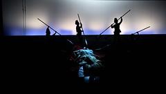Salome (lorenzog.) Tags: ausrinestundyte salome opera operalirica show theater theatricalscenery richardstrauss musicphotography teatrocomunalebologna bologna emiliaromagna italy nikon d700 red