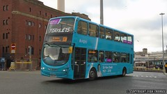 In a memory of Sir Ken Dodd (Efan Thomas Bus Spotting Photography) Tags: here was arriva north west wrightbus vdl db300 gemini pulsar mx61ayo 4438