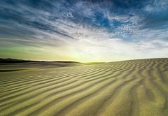 Sand Ripples (Martin Snicer Photography) Tags: landscape desert sand sanddunes ripples pattern sky 70d canon 1018mm dslr wideangle portstephens stocktonsanddunes australia travel