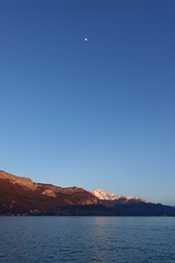 Sunset @ La Tournette @ Lake Annecy (*_*) Tags: march 2019 hiver winter afternoon europe france hautesavoie 74 annecy savoie lacdannecy lakeannecy lac lake bornes tournette mountain sunset sunny