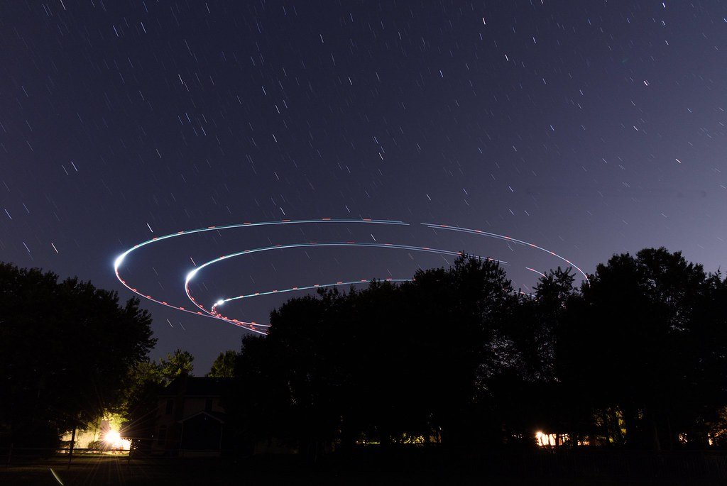 The World's Best Photos of helicopter and longexposure