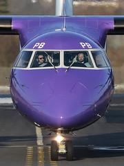 DHC-8-402 Dash 8 G-PRPB Flybe (Mark McEwan) Tags: dehavillandcanada dhc8 dhc8402 dash8 q400 gprpb flybe aviation aircraft airplane airliner edi edinburghairport edinburgh