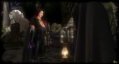 Valhalla Series ~ The Orbs & A Bargain In The Dark (0rco) Tags: viking valhalla medieval magic darkelf darkmagic drow shadows darkshaman secondlife orbs witch
