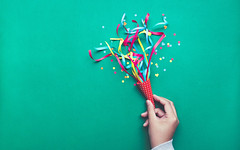 Celebration,party backgrounds concepts ideas with hand holding colorful confetti,streamers.Flat lay (nithiyabhaskar) Tags: above anniversary background birthday card carnival celebrate celebration christmas color colorful confetti copyspace creative creativity decor decoration decorative design discount element event female festive flat fun gift green greeting hand happiness happy hold holiday idea lay newyear ornaments paper party present promotion red ribbon sale streamer surprise topview woman xmas
