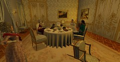 Marital Conflicts (Sofia ~Chateau D'Esprit~) Tags: stpetersburginsl saint petersburg sl rp secondlife roleplay 18th century dinner tzarevich pavel natalya alexeevna russia capital baroque rococo