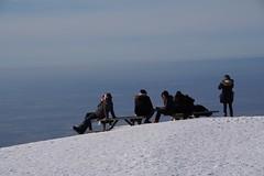people enjoy the view (2) (mgheiss) Tags: berg mountain gebirge mittelgebirge schwarzwald blackforest pentaxkp pentaxda18135mm winter schnee snow