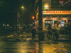Let's Talk About The Weather (Brian D' Rozario) Tags: newyork brian19869 briandrozario nikon d750 outdoor urban weather climate rain rainy sleet freeze freezing unpredictable nyc streets street reflection moody gloom gloomy restaurant streetscene eveningrush downpour pouring streetsofnewyork capitaloftheworld pollos hoodie hoody globalwarming citystreet citystreets cityscape urbanscape urbanscene brightlight brightlights climatechange