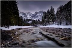 Straneggbach im Winter (Karl Glinsner) Tags: landschaft landscape österreich austria oberösterreich upperaustria outdoors winter schnee snow berge mountains gebirge totesgebirge almtal bach creek grünau straneggbach