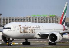 A6-ENU - Emirates B777-300ER (✈ Adam_Ryan ✈) Tags: dub eidw 2019 dublinairport2019 ireland canon 6d 100400liiisusm 100400 early earlymorning sun arrival landing aircraft airbusboeing a6enu emirates b777300er