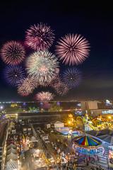 2019台灣燈會閉幕煙火 (Hong Yu Wang) Tags: sony a73 a7iii a7m3 taiwan pingtung lanternfestival 台灣燈會 台灣 屏東 大鵬灣 fireworks night 1224g
