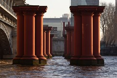 Romanesque (mjwpix) Tags: londonchathamanddoverrailway blackfriarsbridge romanesque disusedrailways london mjwpix michaeljohnwhite canoneos5dmarkiii ef135mmf2lusm