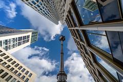 Der Himmel über Berlin (Jutta Achrainer) Tags: achrainerjutta berlin fe1224mmf4g sonyalpha7riii breitscheidplatz hochhäuser