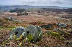 20190308-stanage_edge-1261.jpg (John J Buckley) Tags: rock landscape millstones peakdistrict nationalpark derbyshire stanageedge moors gritstone winter
