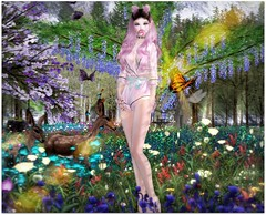 Cherry Bomb (Sivyaleah (Elora)) Tags: second life sl avatar mesh bento girl dirty princess sugar bougie rare hair doux emerald laq ivy maitreya lara bubblegum momoko moon ring deer virtual kawaii cute kyoot