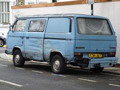 1986 Volkswagen Transporter Camper Van (Neil's classics) Tags: vehicle 1986 volkswagen transporter camper van t3 t25 vw camping motorhome autosleeper motorcaravan rv caravanette kombi mobilehome dormobile